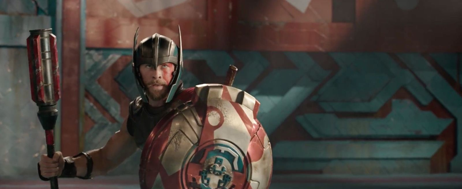 mjolnir is broken thor ragnarok teaser trailer smashes