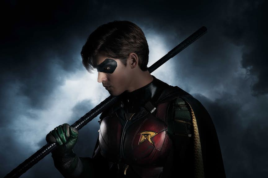 Brenton Thwaites as Robin in DC Entertainment's Titans
