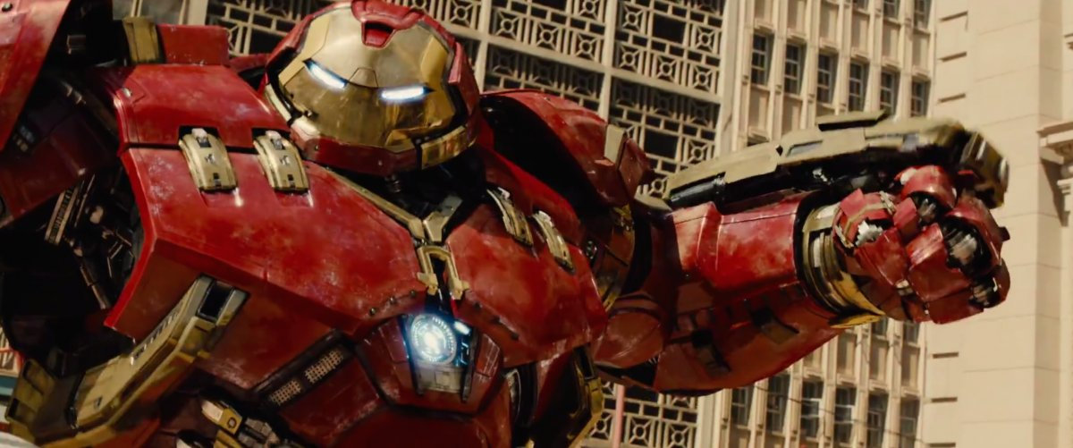 It's everything you expect Hulk vs. Hulkbuster to be!
