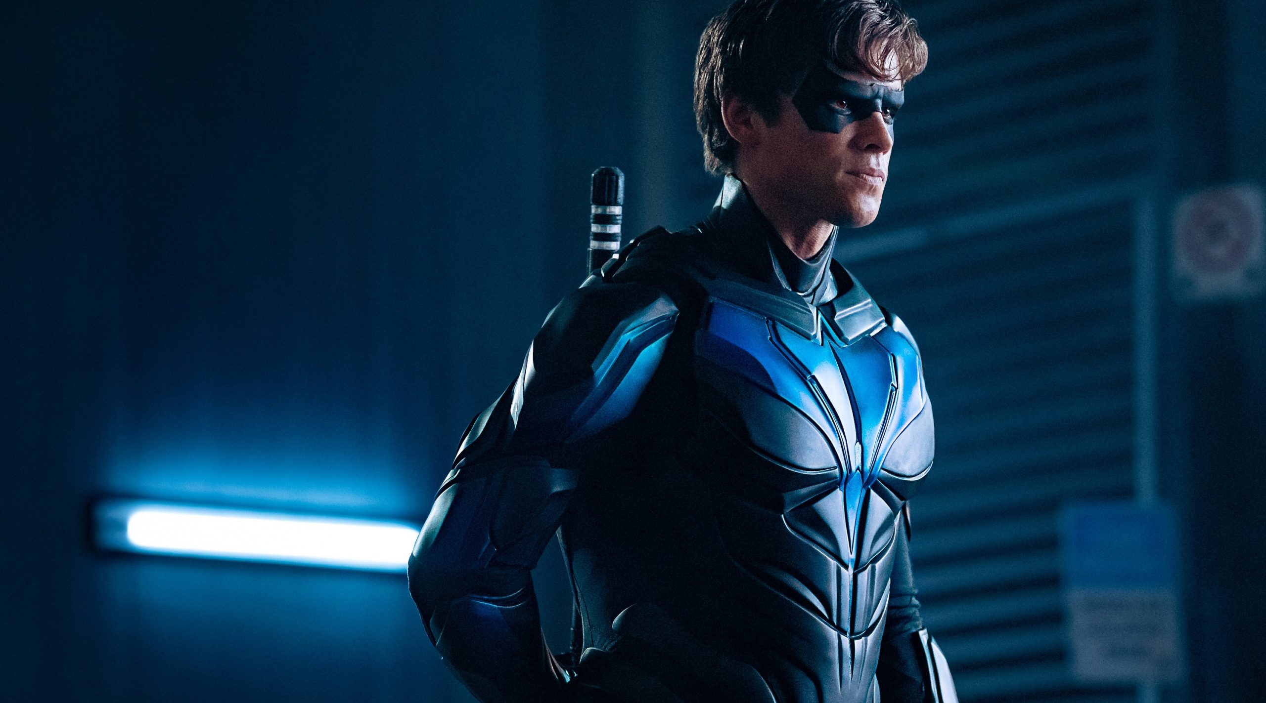 """Titans -- Ep. 213 -- """"Nightwing"""" -- Photo Credit: Brooke Palmer / 2019 Warner Bros. Entertainment Inc. All Rights Reserved."""