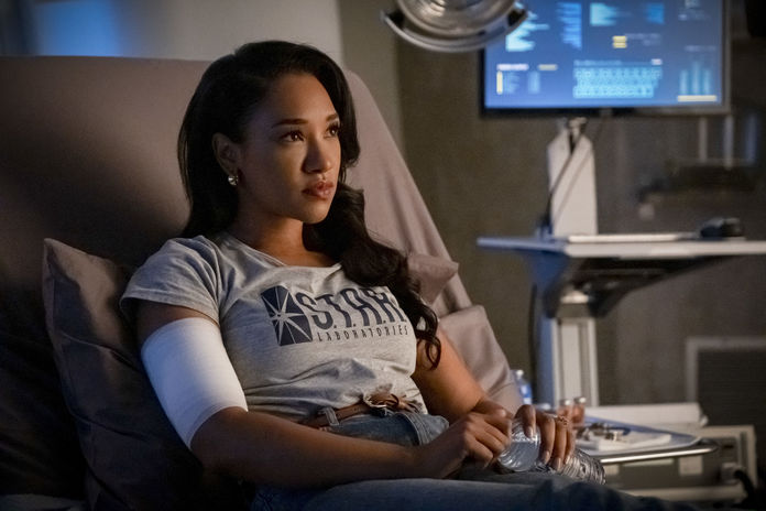 "The Flash -- ""Marathon"" -- Image Number: FLA610a_0031b.jpg -- Pictured: Candice Patton as Iris West - Allen -- Photo: Katie Yu/The CW -- © 2020 The CW Network, LLC. All Rights Reserved."