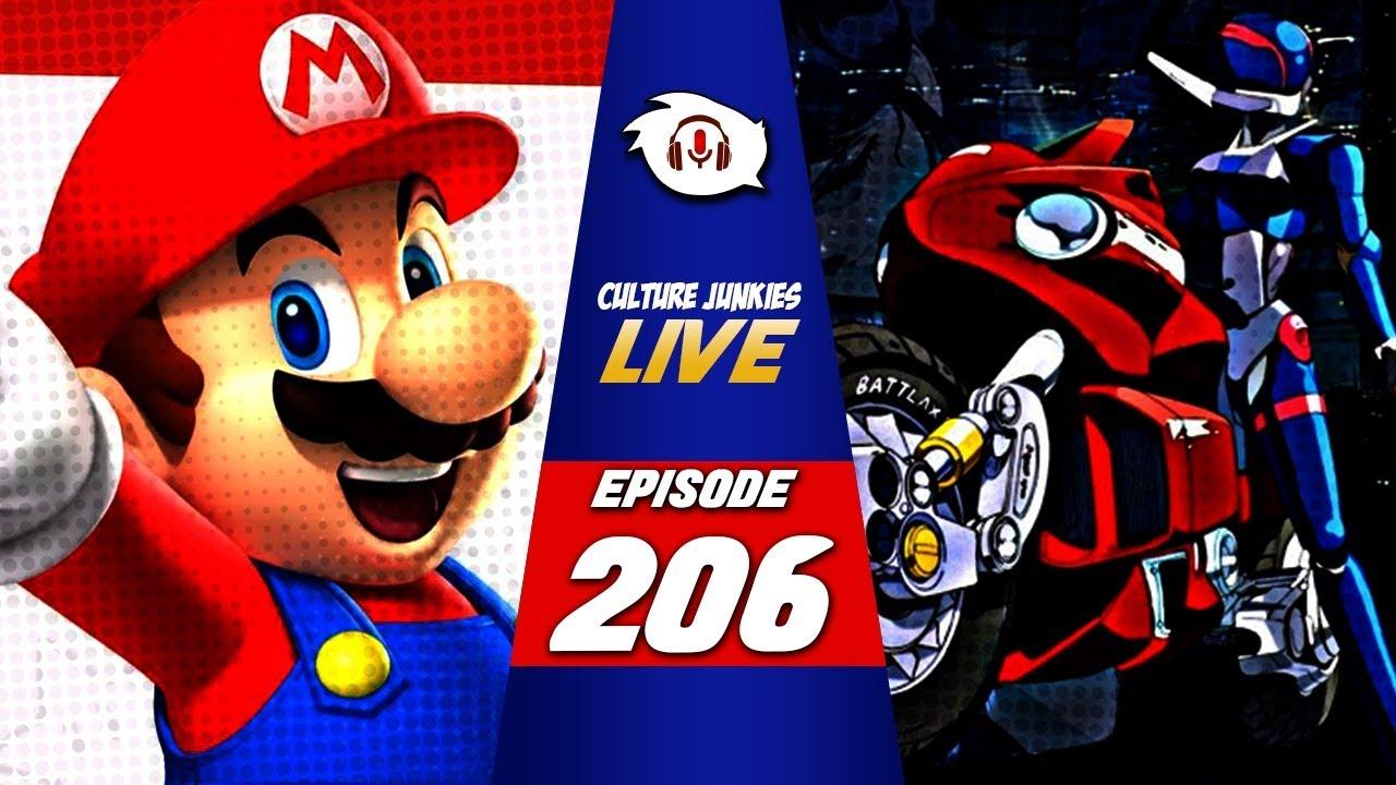 Episode 206 | Mario & The Nintendo Cult, RetroCrush App | Culture Junkies LIVE