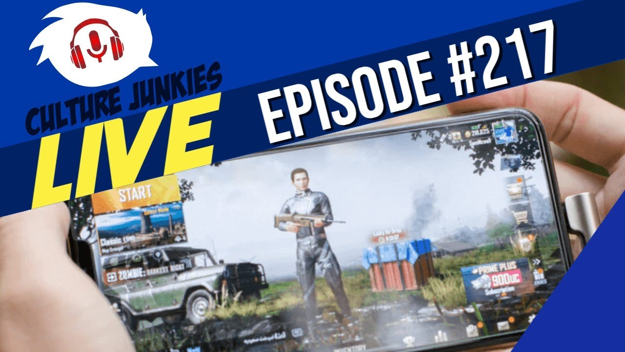 Episode 217  -  The Rise of The Mobile Gamer  | Culture Junkies Live